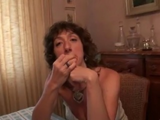 Mature french gangbang