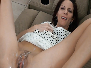 crazy Skinny mom mature anal
